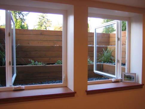 standard basement window