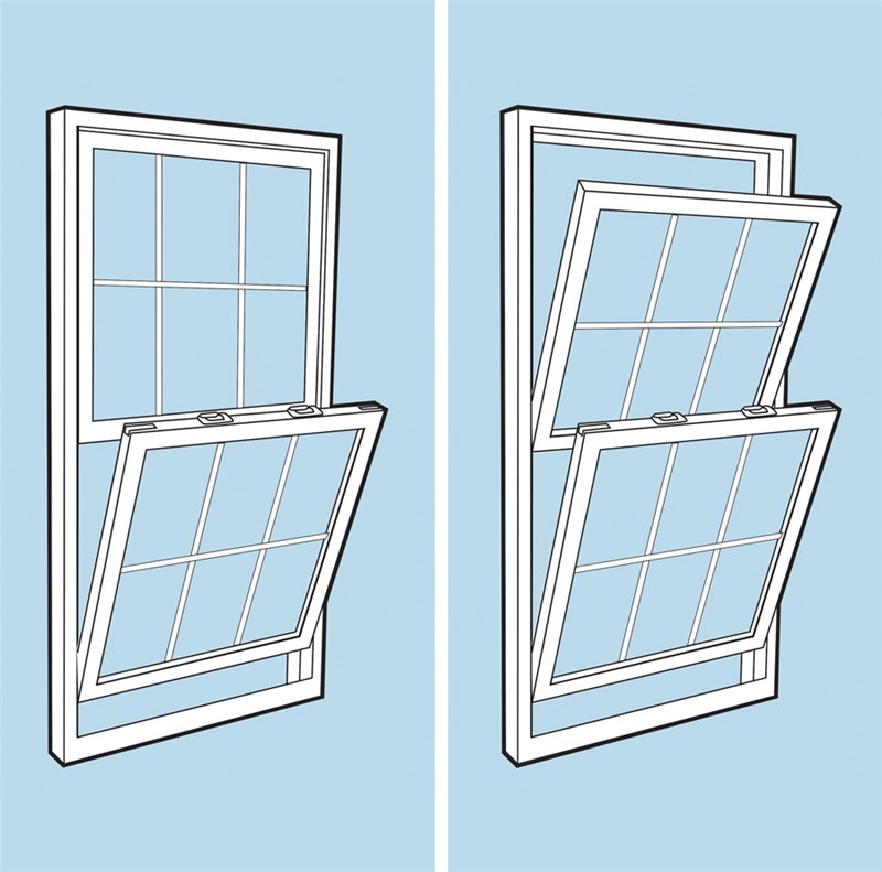 7 Differences Between Single Hung And Double Windows